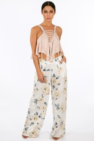 k/724/W1347-6-_Floral_Chiffon_Wide_Leg_Trouser_In_Cream_Nude__32469.jpg