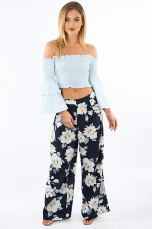 q/837/W1347-6-_Floral_Chiffon_Wide_Leg_Trouser_In_Navy_White__72400.jpg