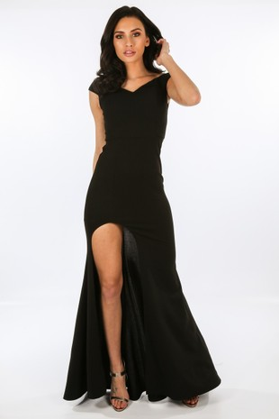 a/883/W1639-_Black_Bardot_Maxi_Dress_With_Front_Split__28556.jpg