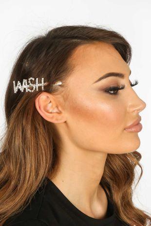 Wish Diamante Hair Slide