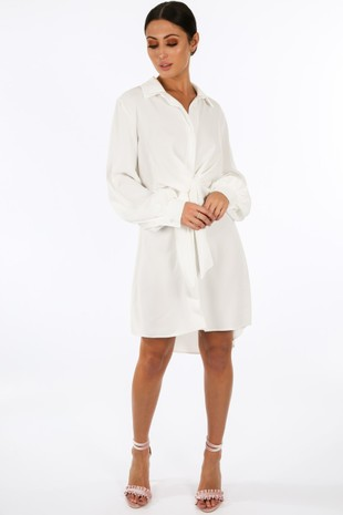 y/167/gcd2076-_Tie_Front_Chiffon_Shirt_Dress_In_White__78733.jpg
