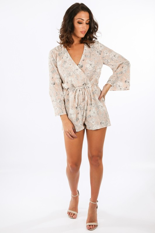 e/350/11211-_Floral_Printed_Cross_Over_Playsuit_In_Nude__54842.jpg