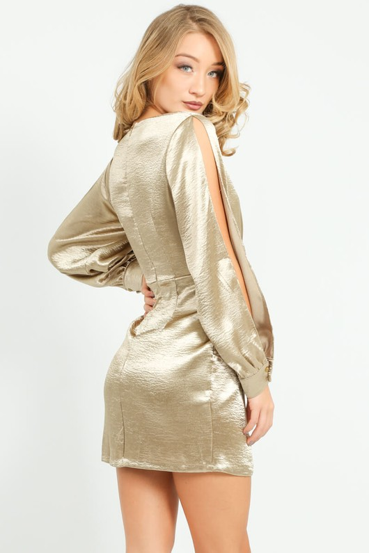 k/135/11462-_Satin_Open_Sleeve_Dress_In_Gold-2__49052.jpg