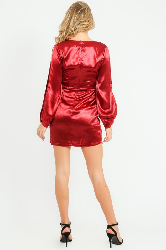 q/431/11462-_Satin_Open_Sleeve_Dress_In_Red-6__59705.jpg