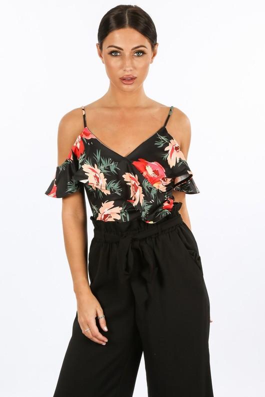 g/300/11508-1-_Tropical_Floral_Print_Bodysuit_In_Black-2__46936.jpg