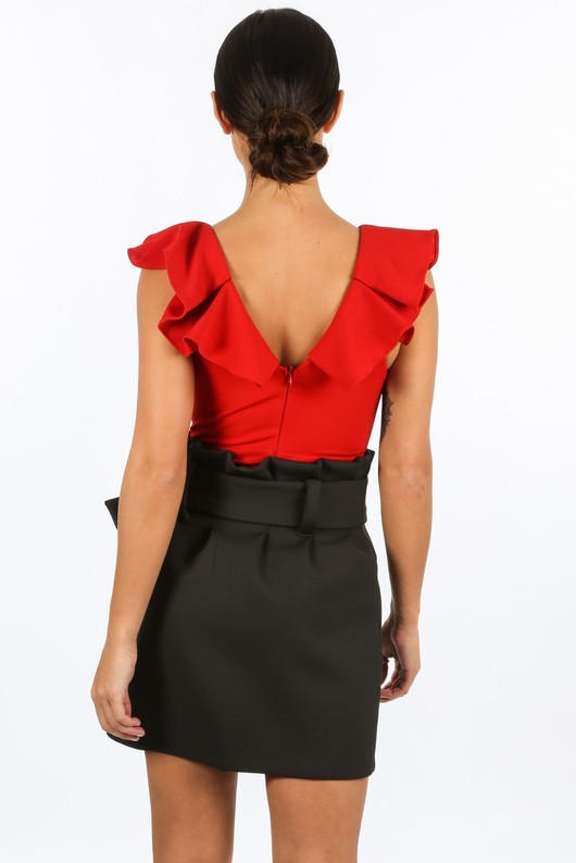 q/635/11859-_Frill_Sleeve_Cut_Out_Bodysuit_In_Red-3__35907.jpg
