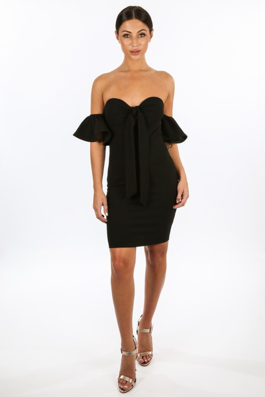 e/778/11886-_Tie_Front_Off_Shoulder_Dress_In_Black__02436.jpg