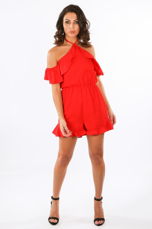 s/414/21473-_Cold_Shoulder_Frill_Detail_Playsuit_In_Red__53448.jpg