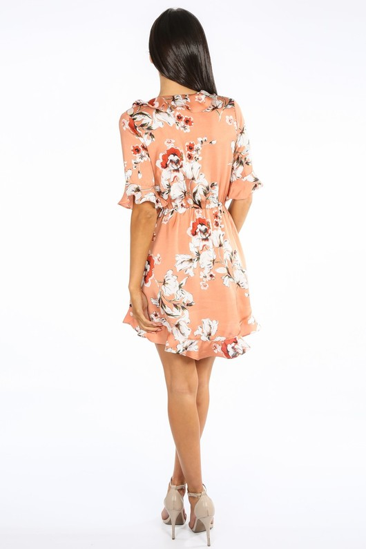 b/233/21730-7-_Floral_Satin_Wrap_Look_Dress_With_Frill_In_Peach-3__75789.jpg
