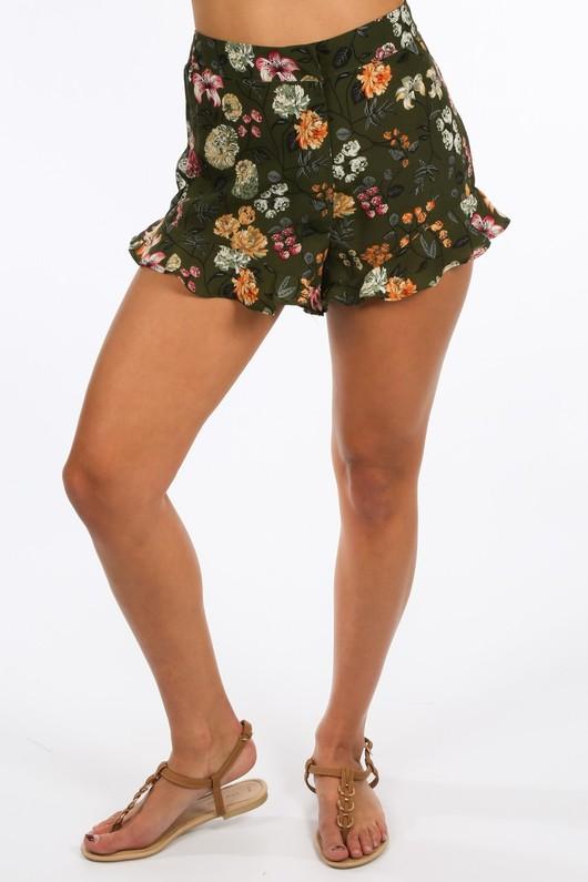 d/263/3026-_Floral_Printed_Frill_Hem_Shorts_In_Green-2__26978.jpg