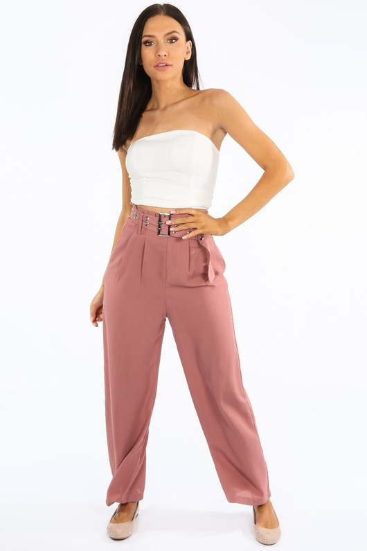 z/902/31683-_Pink_Belted_Paper_Bag_Straight_Leg_Trouser__05691.jpg