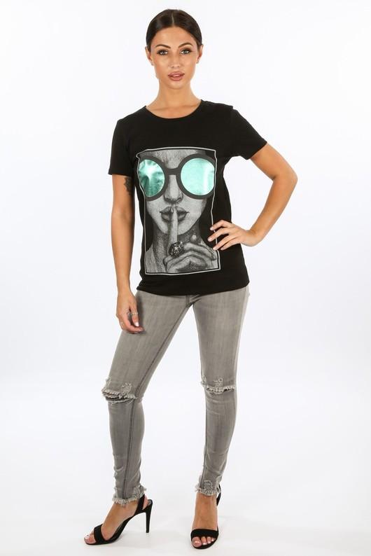 x/818/5989-_Metallic_Glasses_Print_T-Shirt_In_Black__68897.jpg