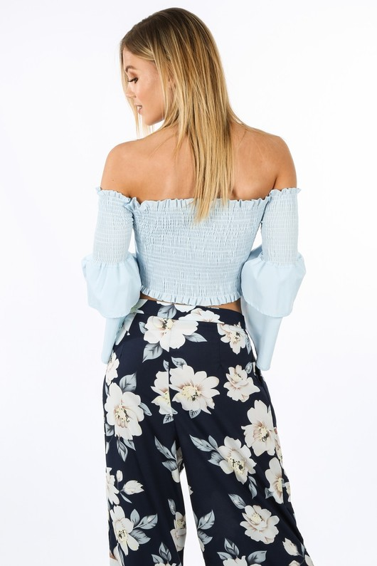 s/209/8089-_Blue_Shirred_Bardot_Crop_Top_With_Bell_Sleeves-4__26247.jpg