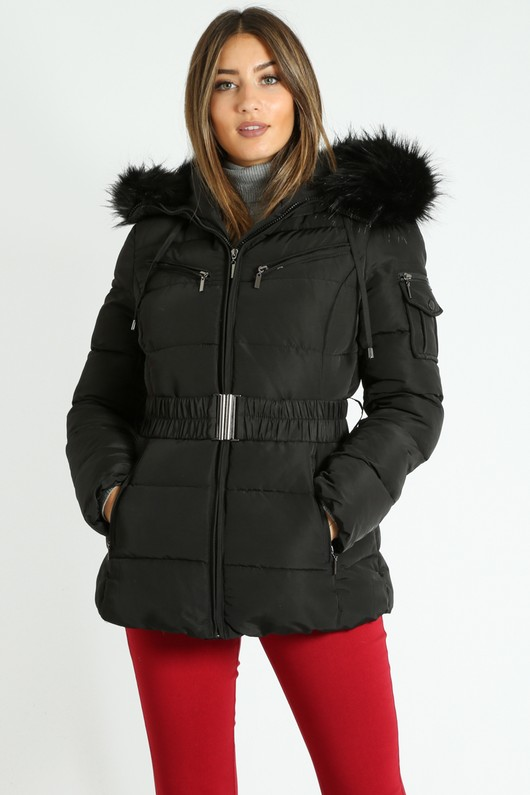 a/472/Black_Belted_Short_Quilted_Anorak_With_Faux_Fur-3__90249.jpg