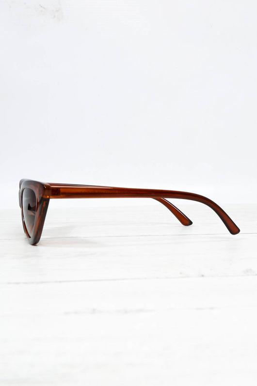 90800d0948 Cat Eye Sunglasses In Brown