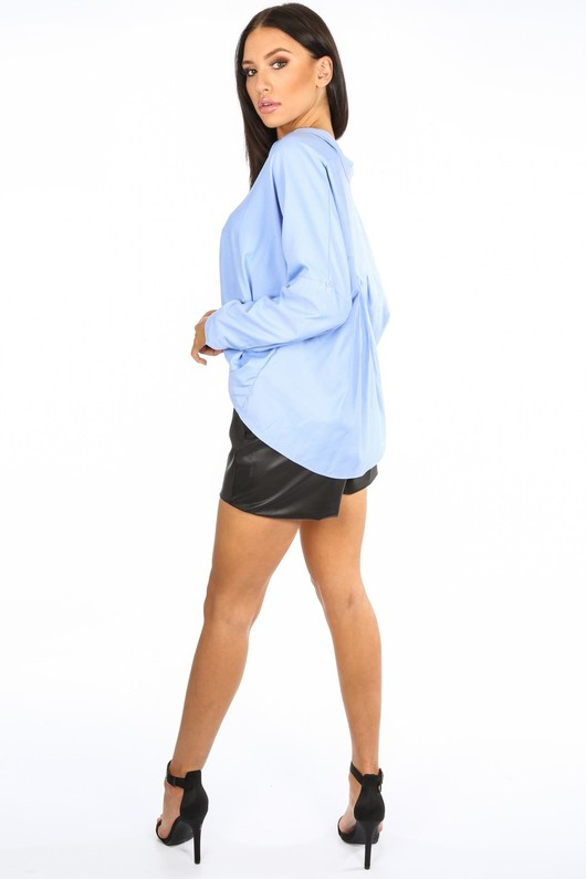 o/416/CY115-_Gathered_Pleat_Blouse_In_Blue-3__33186.jpg