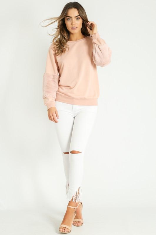v/695/Faux_Fur_Sweatshirt_in_Pink__77899.jpg