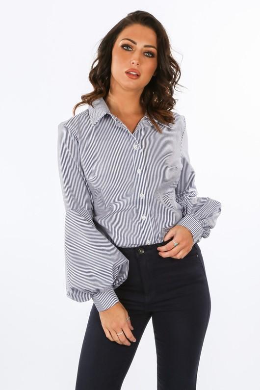 p/671/GCB2458-_Striped_Shirt_With_Puff_Sleeve_Detail_In_Dark_Blue-2__60563.jpg