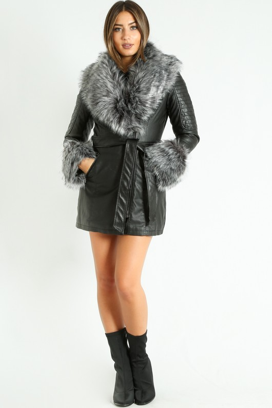 p/016/Grey_Faux_Fur_Collar_Belted_Biker_Coat_In_Black-3__37836.jpg