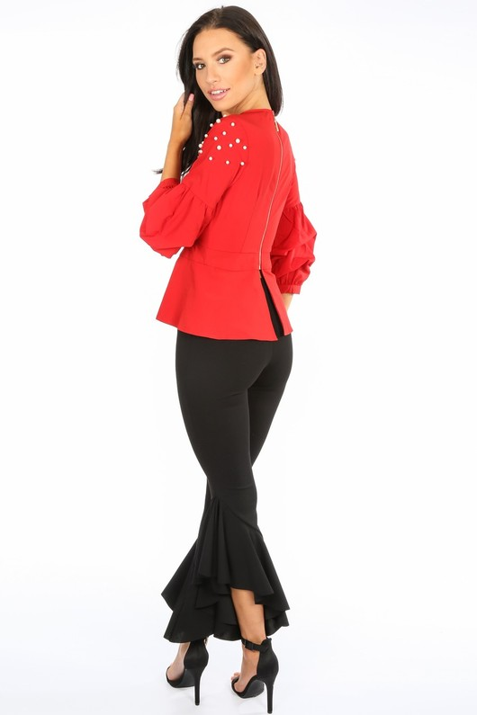 n/249/H118-_Red_Pearl_Embellished_Puff_Sleeve_Peplum_Blouse-4__82507.jpg