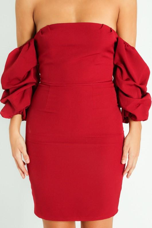 k/807/Off_The_Shoulder_Puff_Sleeve_Dress_In_Burgundy-5__25983.jpg