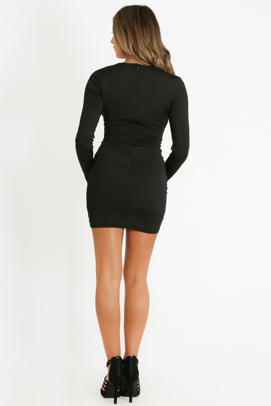 w/897/Plunge_Front_Ruched_Bodycon_Dress_In_Black-5__79132.jpg