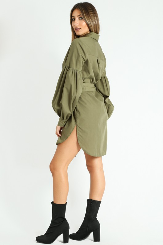 r/311/Puff_Sleeve_Belted_Shirt_Dress_In_Khaki-4__64118.jpg