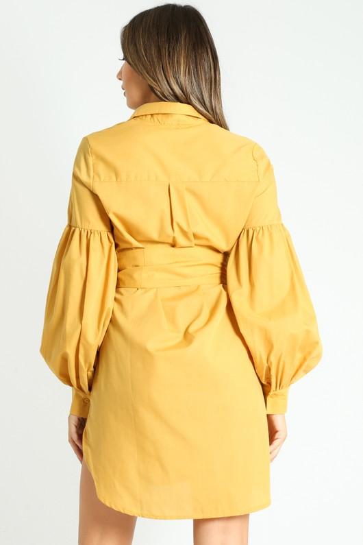 j/130/Puff_Sleeve_Belted_Shirt_Dress_In_Mustard-3__45678.jpg
