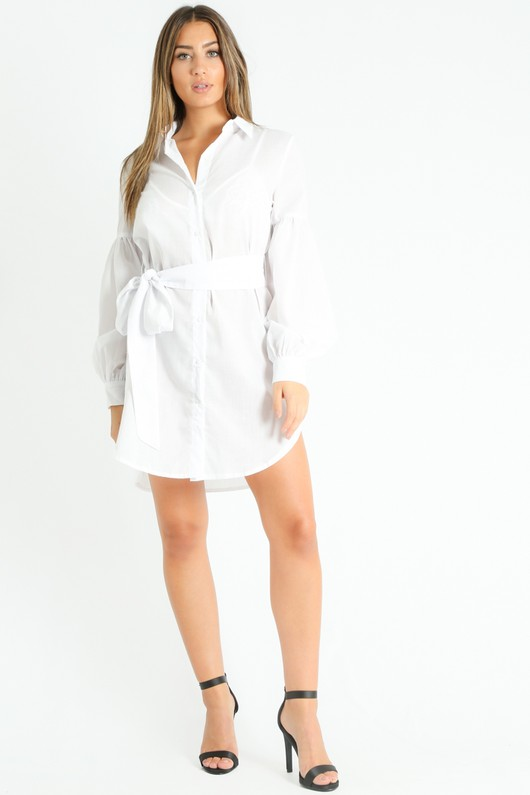 s/140/Puff_Sleeve_Belted_Shirt_Dress_In_White-4__87467.jpg