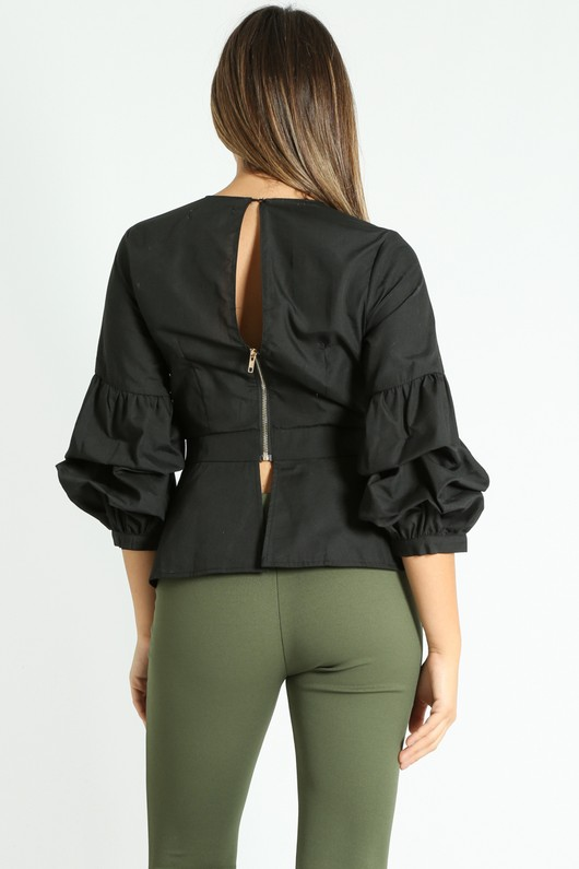 y/575/V-Neck_Puff_Sleeve_Peplum_Blouse_In_Black-3__40440.jpg