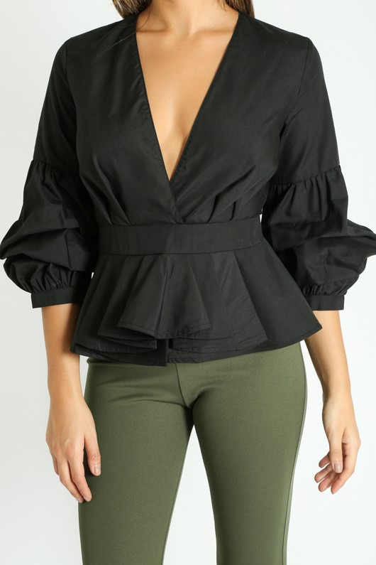 l/897/V-Neck_Puff_Sleeve_Peplum_Blouse_In_Black-5__46748.jpg