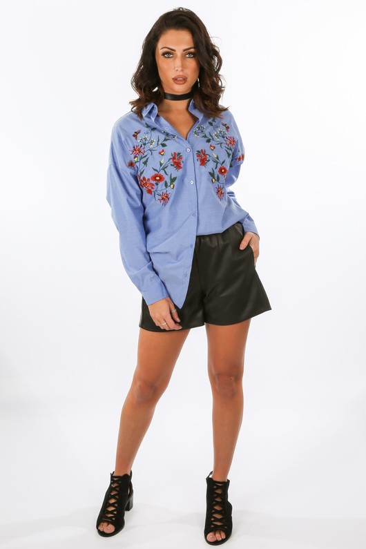 j/661/W1316-1-_Chambray_Fitted_Shirt_With_Embroidered_Detail__19945.jpg