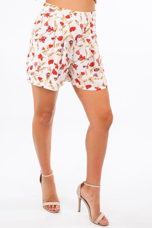j/776/W1426-_Floral_Print_Chiffon_Shorts_In_White-3__45633.jpg
