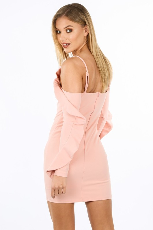 m/250/W1611-_Long_Sleeve_Cold_Shoulder_Frill_Dress_In_Pink-4__17558.jpg