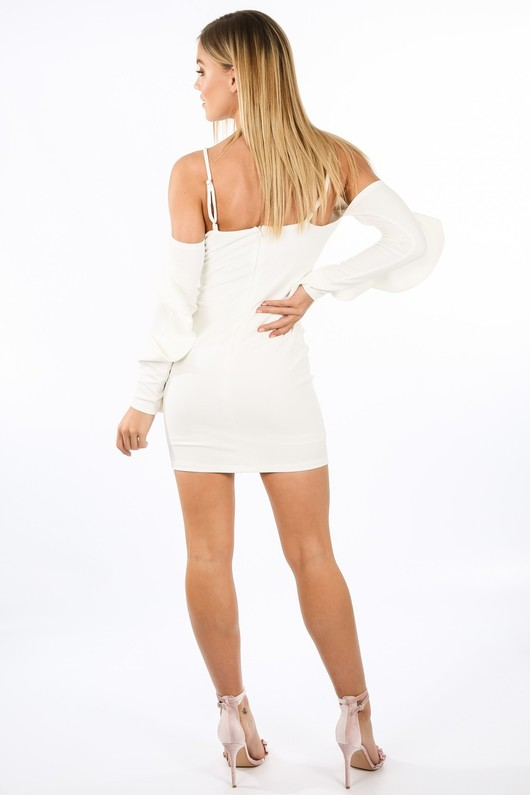 j/855/W1611-_Long_Sleeve_Cold_Shoulder_Frill_Dress_In_White-4__54763.jpg