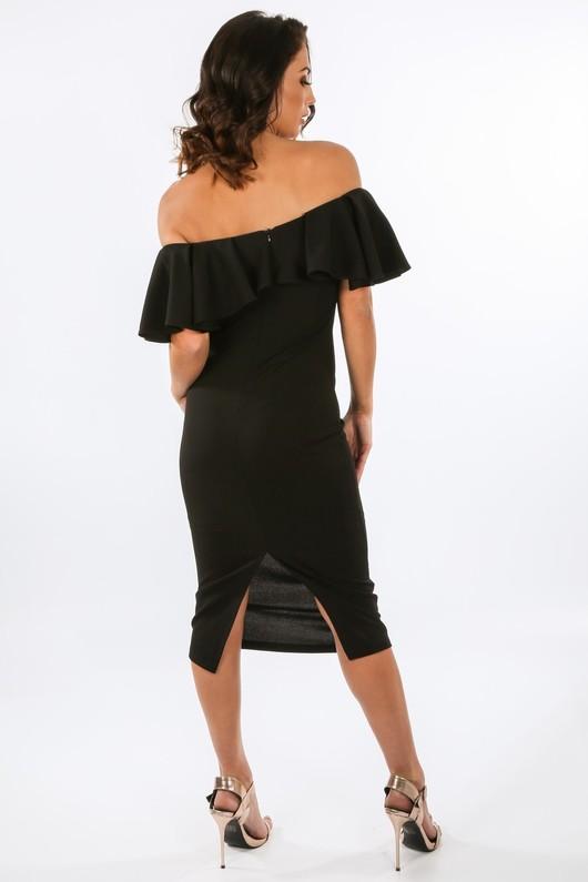 h/883/W1627-_Frill_Bardot_Midi_Dress_In_Black-3__00396.jpg