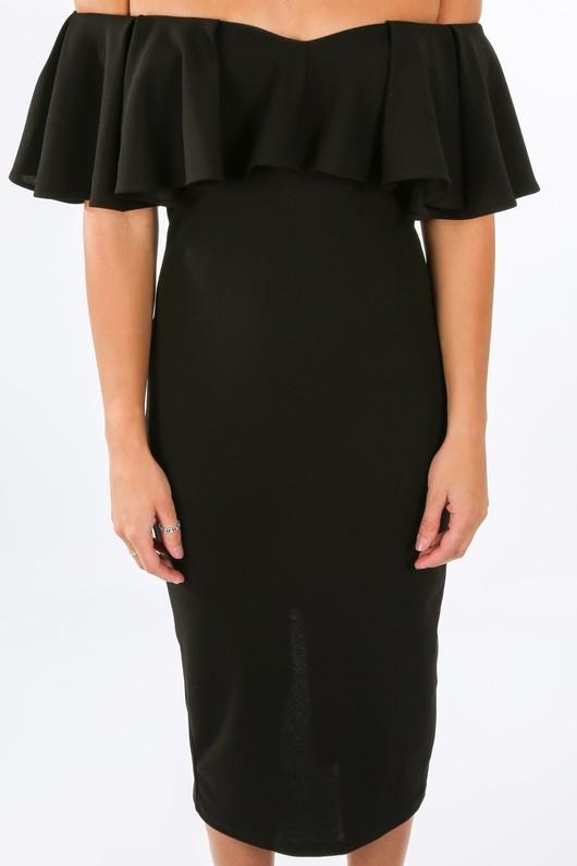 c/306/W1627-_Frill_Bardot_Midi_Dress_In_Black-5__83960.jpg