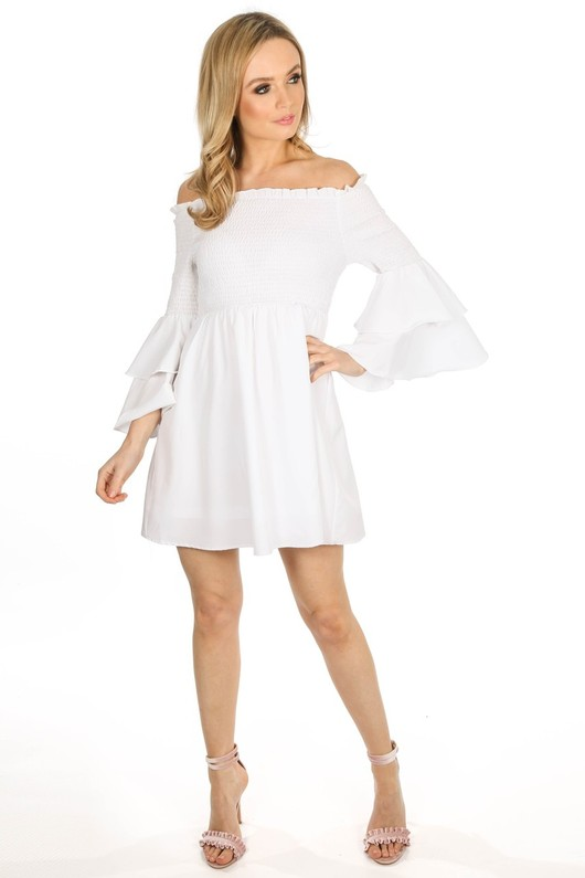 a/377/W1635-_Off_Shoulder_Elasticated_Frill_Sleeve_Dress_In_White-2__18133.jpg