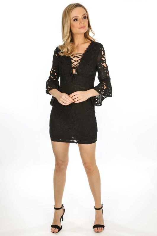 l/369/W1640-_Crochet_Bell_Sleeve_Dress_In_Black__82209.jpg