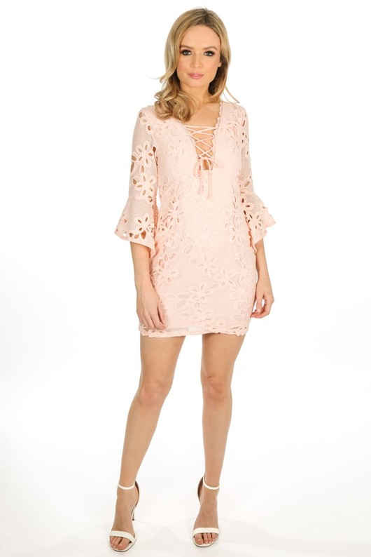a/553/W1640-_Crochet_Bell_Sleeve_Dress_In_Pink__21794.jpg