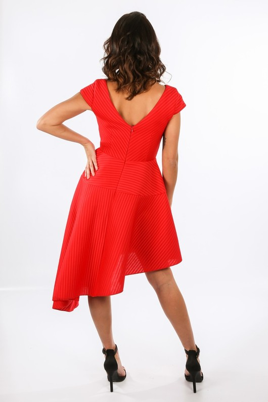 x/454/W2175-_Asymmetric_Skater_Dress_With_Sweet_Heart_Neckline_In_Red-3__68222.jpg