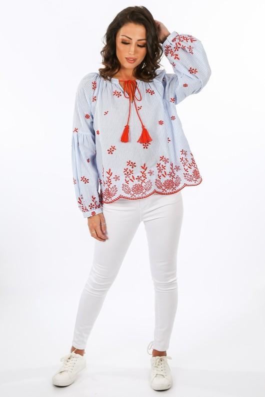 x/612/W2412-_Striped_Blue_Blouse_With_Red_Embroidery__68283.jpg