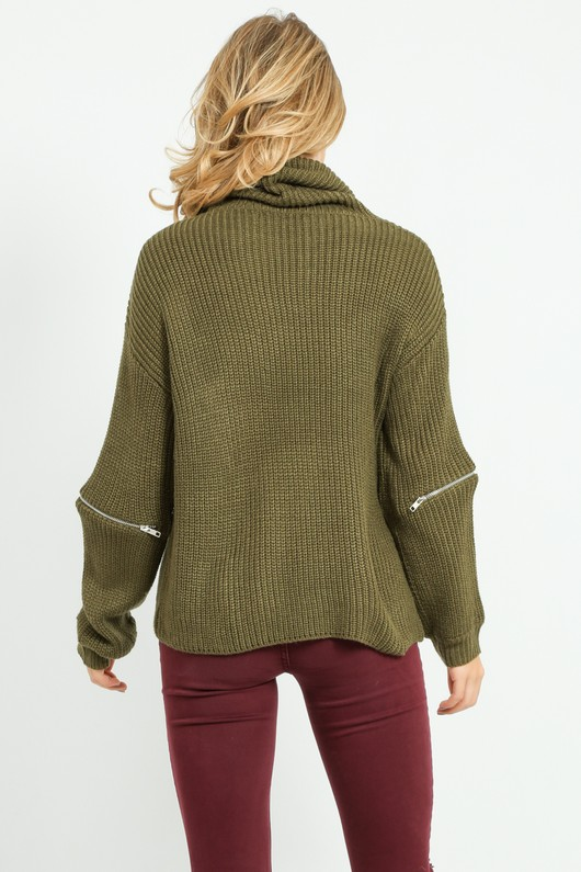 l/719/W5207-_Zip_Knitwear_In_Khaki-2__58553.jpg