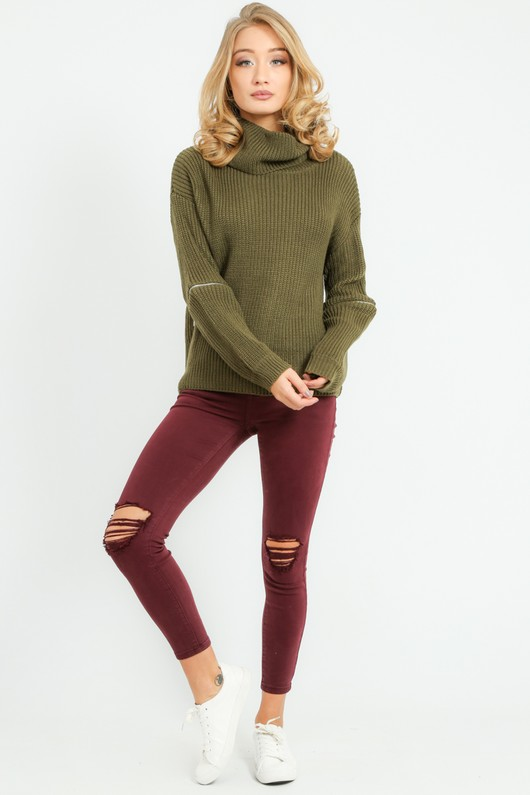 d/068/W5207-_Zip_Knitwear_In_Khaki-5__77094.jpg