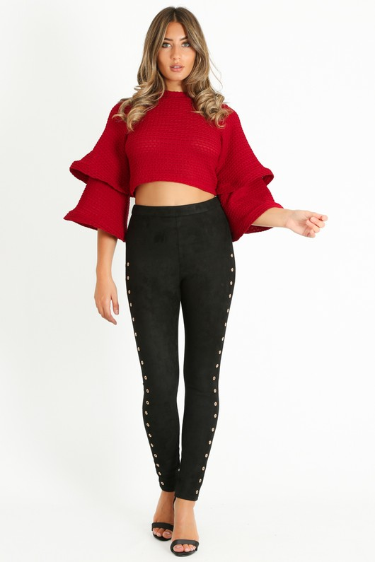 79a699168f216a q/146/Waffle_Crop_Top_With_Layered_Bell_Sleeve_In_Burgundy__09581.jpg
