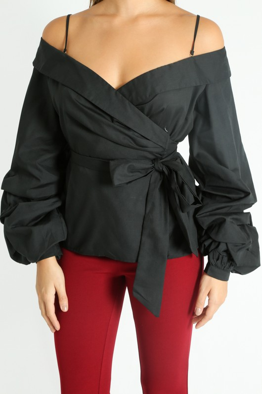 g/429/Wrap_Blouse_With_Puff_Sleeve_In_Black-5__78772.jpg