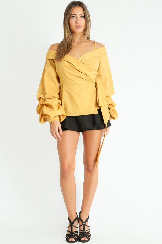 k/054/Wrap_Blouse_With_Puff_Sleeve_In_Mustard__84869.jpg