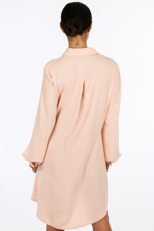 l/994/gcd2076-_Tie_Front_Chiffon_Shirt_Dress_In_Pink-3__96004.jpg