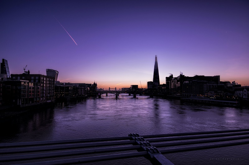 The River Thames from the Millennium Bridge
