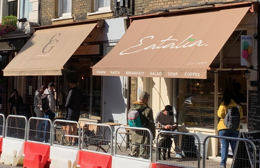 Comptoir Gourmand and Eatalia on Bermondsey Street